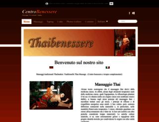 thaibenessere.ch screenshot