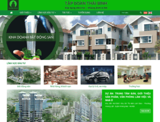 thaibinhgroup.com.vn screenshot
