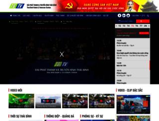 thaibinhtv.vn screenshot