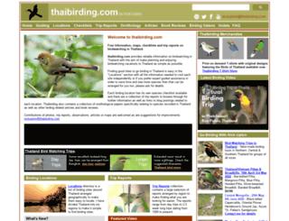 thaibirding.com screenshot