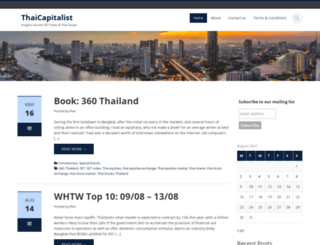 thaicapitalist.com screenshot