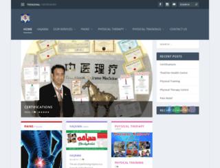 thaichinhealthcare.com screenshot