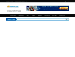 thaiembassy.com screenshot
