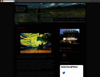 thaifilmjournal.blogspot.com screenshot