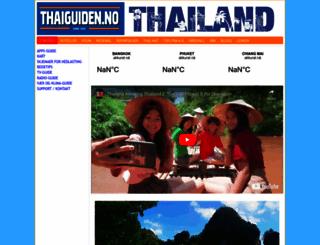 thaiguiden.no screenshot