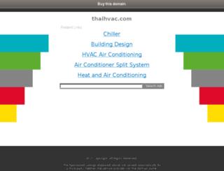thaihvac.com screenshot