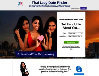 thailadydatefinder.com screenshot