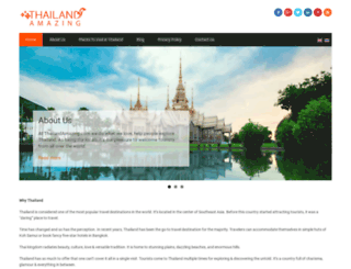 thailandamazing.com screenshot