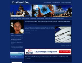 thailandblog.nl screenshot