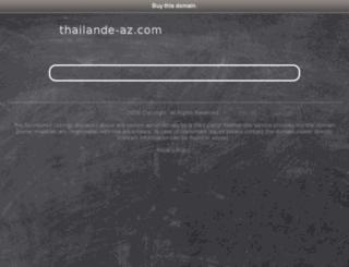 thailande-az.com screenshot