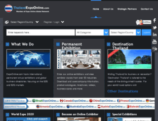 thailandexpoonline.com screenshot