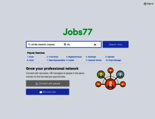 thailandjobs77.com screenshot