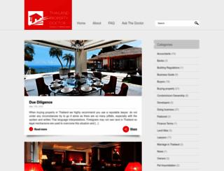 thailandpropertydoctor.com screenshot