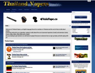 thailandvapers.com screenshot