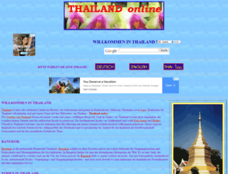 thailine.at screenshot