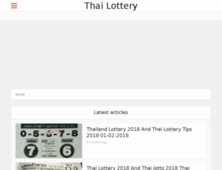 thailotteryresult.net screenshot
