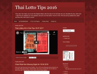 thailottorytips.blogspot.ch screenshot