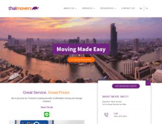thaimovers.com screenshot