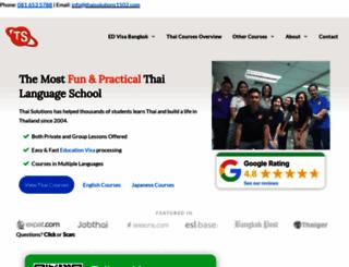 thaisolutions1502.com screenshot