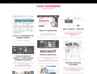 thaisteck.wordpress.com screenshot