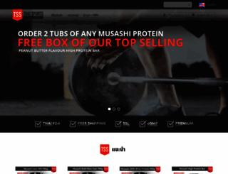 thaisupplements.com screenshot