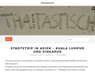 thaitastisch.de screenshot
