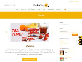 thaiteashop.com screenshot