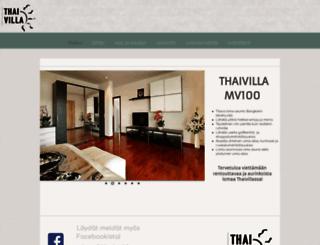 thaivilla.fi screenshot