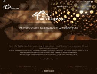 thaivillagespa.co.uk screenshot