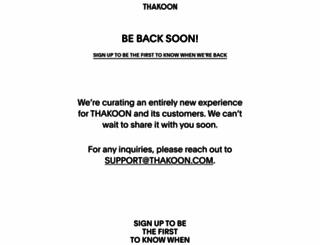 thakoon.com screenshot