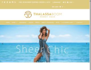 thalassa-boom.myshopify.com screenshot