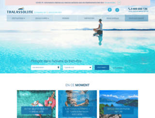 thalasso-line.com screenshot