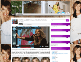 thaliadiva.wordpress.com screenshot