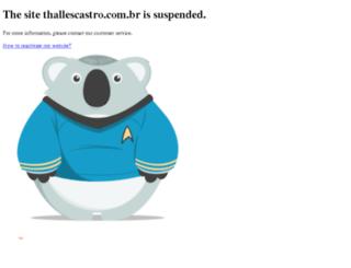 thallescastro.com.br screenshot