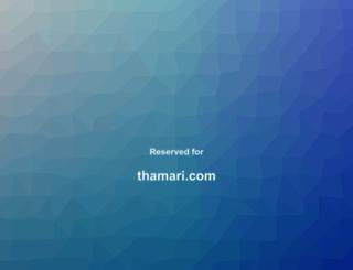 thamari.com screenshot