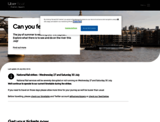thamesclippers.com screenshot