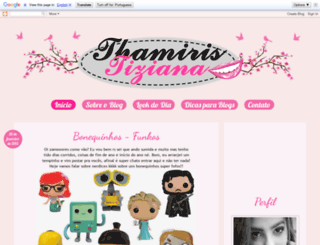 thamiristiziana.blogspot.com.br screenshot