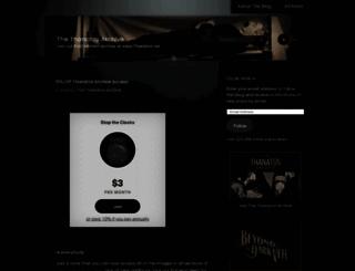 thanatosarchive.com screenshot