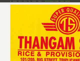 thangamstores.com screenshot