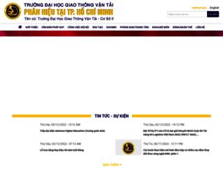 thanhnien.utc2.edu.vn screenshot