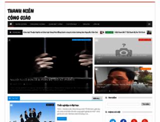 thanhnienconggiao.blogspot.com.au screenshot