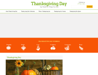 thanksgiving-day.org screenshot