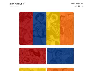 thanley.wordpress.com screenshot