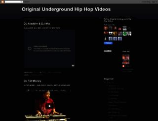thaoriginalhiphopvideo.blogspot.com screenshot