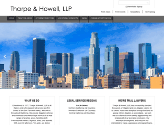 tharpe-howell.com screenshot