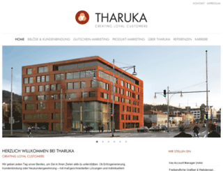 tharuka.de screenshot