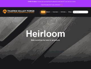 tharwavalleyforge.com screenshot