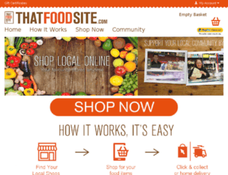 thatfoodsite.com screenshot