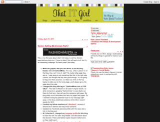 thatitgirl.blogspot.com screenshot