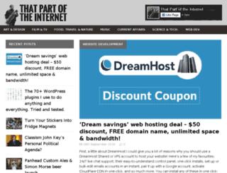 thatpartoftheinternet.com screenshot
